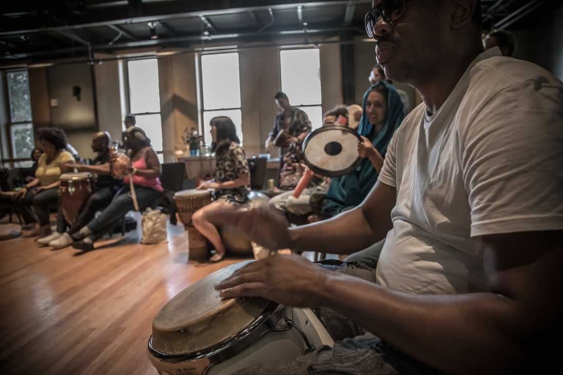 Hands-on percussion workshop
