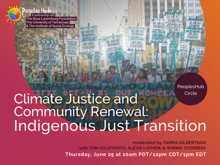 Peoples Hub Climate Justice Event
