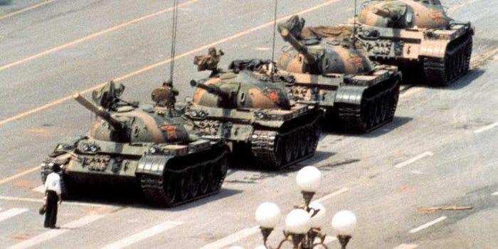 Tiananmen Square Massacre, 1989