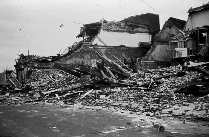 Hurricane Hugo Hits SC September, 1989