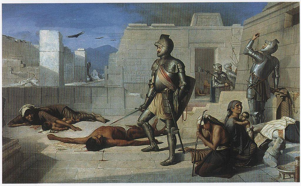 Hernan Cortés invades Mexico and devastates Aztec Empire, 1519