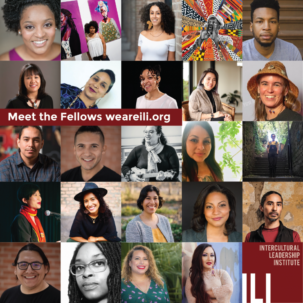 Grid of photos of all new Year 3 ILI Fellows