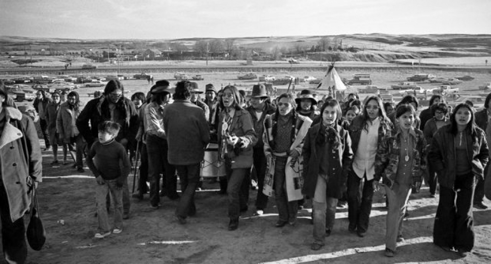 The American Indian Movement (AIM), founded July, 1968