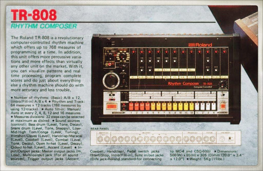 The 808 Drum Machine, 1980-83
